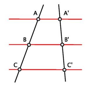 Tales Theorem